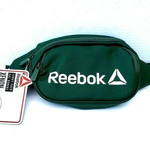 NWT Reebok XENON Fanny Pack Green Adjustable Strap